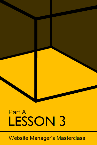 Cover of lesson 3