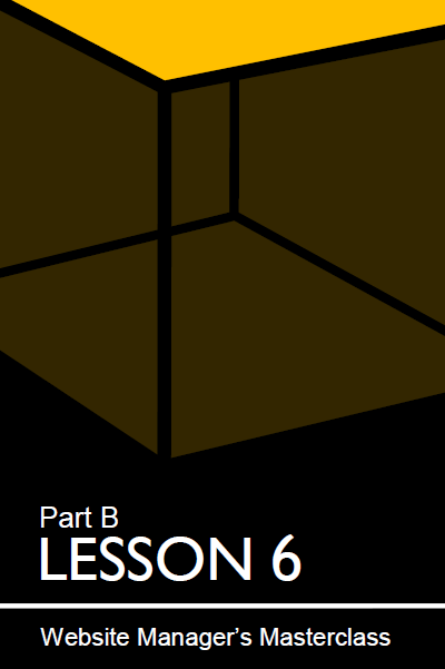 Cover of lesson 6