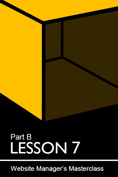 Cover of lesson 7
