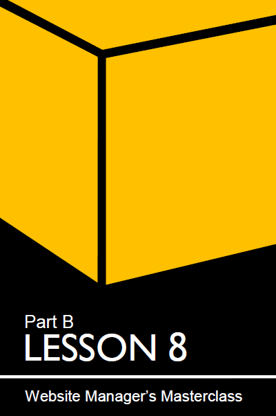 Cover of lesson 8