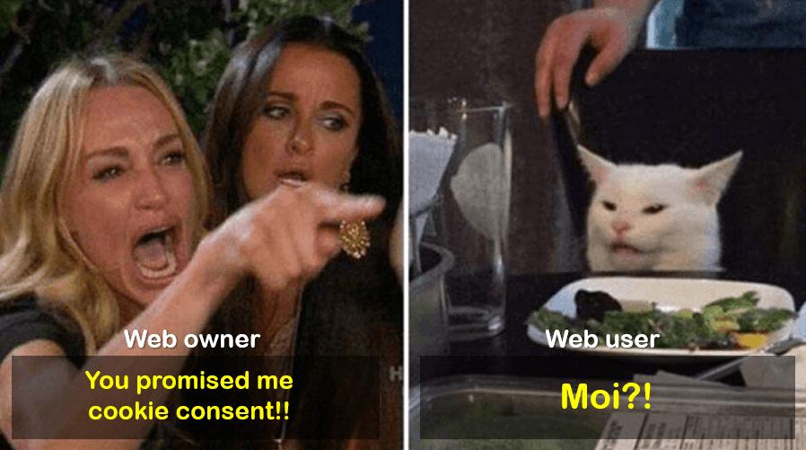 Cookie consent management