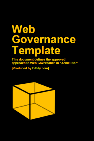 A photo of a web governance implementation