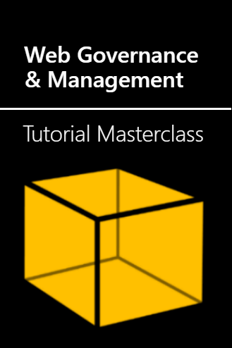 Cover of web management training masterclass